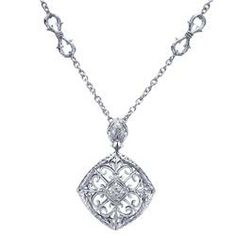 Gabriel Pendant with Diamonds - NK3411SV5JJ