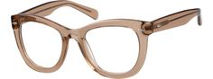 BrownAcetate Full-Rim Frame with Spring Hinges4413915