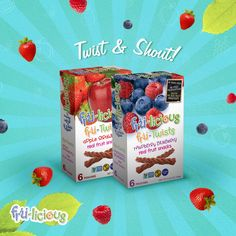 Twist & Shout with these delicious, 100% natural snacks #frulicious #FuitTwists #fun http://fru-licious.com/