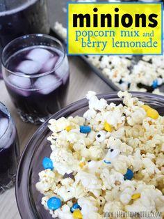 Minions Popcorn Mix