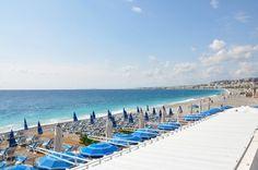 Nice Beach Copyright Ingo Lütkebohle #Nice #France #ebdestinations #travel #tourism @ebdestinations #beach