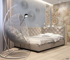 Hanging Chair From Ceiling Info: 5736730211 Room Inspiration, Room Decor Bedroom, Dream Rooms, Bedroom Decor, Room Ideas Bedroom, Bedroom Design, Small Bedroom, Home Decor, Trendy Bedroom