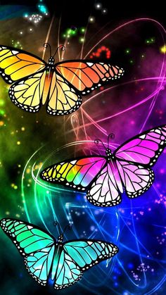 Butterfly Ringtones and Wallpapers - Free by ZEDGE™ Rainbow Butterfly, Butterfly Flowers, Beautiful Butterflies, Butterfly Crafts, Butterfly Kisses, Butterfly Wallpaper Iphone, Cellphone Wallpaper, Iphone Wallpaper, Animal Wallpaper