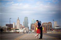 Kansas City Engagement Photographers   Katie & Justin: Engaged!