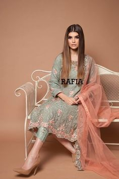 Pakistani Designer Dresses - Lowest Prices - Home - Original & Ready to Wear Pakistani Wedding Outfits, Pakistani Dresses, Indian Dresses, Indian Outfits, Wedding Hijab, Desi Wedding, Pakistani Couture, Pakistani Dress Design, Pakistani Bridal