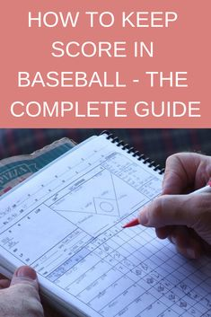 A baseball scorecard contains an incredible amount of information. Official scorecards are sold at the baseball stadium, but one can create their own scorecard. Scorecard books are perfect for those keeping record of a team for. Baseball Scores, Baseball Tips, Baseball Crafts, Baseball Training, Baseball Photos, Dodgers Baseball, Baseball Season, Baseball Games, Baseball Mom