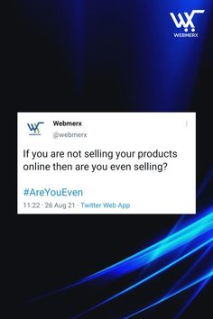 How are you even selling your products without an online store? So, build your online store with Webmerx and start selling online! Ecommerce Solutions, Twitter Web, Selling Online, App, Store, Products, Larger, Apps, Shop