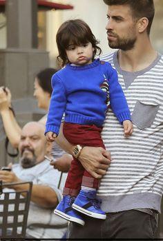 LAS CADERAS TABASCO: Más Fotos: Shakira, Gerard y Milan en Los Ángeles ...