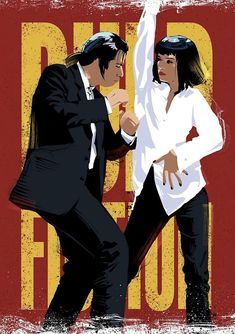 Fiction Dance -Pulp Fiction Dance - Wow its amazing guys 😍? Yes or No & tag your friends that he love it 🤔 Tag your friends 😃 Autozubehör Autos - Jon dick List of movies to watch Best Movie Couples: The 10 Most Iconic Film Romances Ever Captured Movie Poster Art, Film Posters, Quentin Tarantino, Arte Pulp Fiction, Best Movie Couples, Tableau Pop Art, Movie Synopsis, Good Movies To Watch, Sci Fi Books