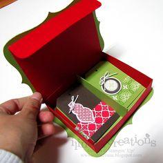 Ornament Keepsakes Box and Tags