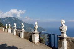 Villa Cimbrone, Park, Terrasse der Unendlichkeit, Ravello, Italy Ravello Italy, Villa, Naples Italy, Amalfi Coast, Park, Statue Of Liberty, Mount Rushmore, Mountains, Nature