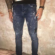 64 vind-ik-leuks, 1 reacties - Have2Have Fashion for Alkmaar (@have2havealkmaar) op Instagram: '#explicit #men #skinny #blue #splatters #jeans #model #Ryder #stretch #new #delivery #blauw #mannen…'