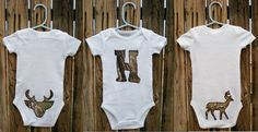 Realtree Personalized Baby Gift Set - Grow outdoor spirit from the start.