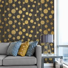 Tribal-Inspired Geometric African Wall Stencil from Raven + Lily | Royal Design Studio Stencils
