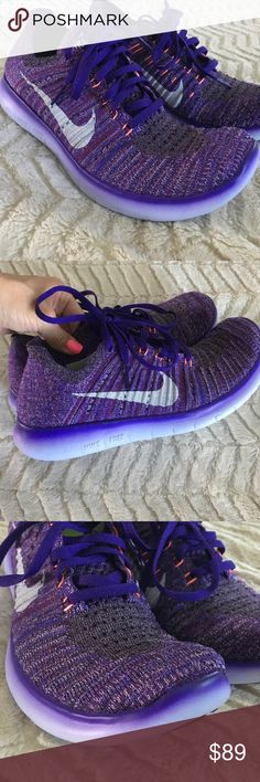 Brand New women's Nike running shoes Brand New🙌🏻Nike running shoes size 7.5. Women's. Purple gorgeousness!!! Nike Shoes Sneakers