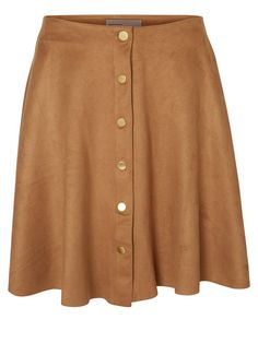 Faux suede skirt from VERO MODA.