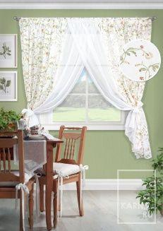 Комплект штор для кухни Lourdes-S