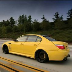 Repin this #BMW E60 M5 yellow then follow my BMW board for more great pins