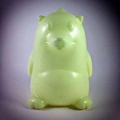 #ONTOYSREVIL: Heathrow The Hedgehog - Unpainted Glow in the Dark Edition from @Frank Kozik