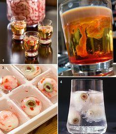 Etranges cocktails d'Halloween | Cherry Plum                                                                                                                                                                                 Plus