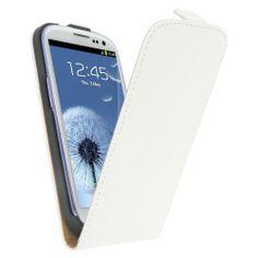 Funda vertical exclusive para Galaxy S3 con film protector gratis. Color blanco de Kltrade, http://www.amazon.es/dp/B00GWL44RQ/ref=cm_sw_r_pi_dp_jefgtb09N0NQD