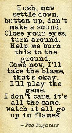 Foo Fighters Lyrics