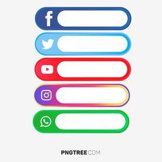 Media Społeczne Wielu Następującą Etykietę wektor i png Social Media Buttons, Social Media Logos, Social Icons, Icones Facebook, Adobe Illustrator, Logo Instagram, Applis Photo, Logo Facebook, Youtube Logo
