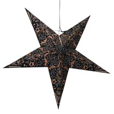 persiia Black star lamps http://www.29june.com/index.php/paper-stars.html