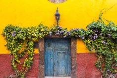 Decorative Doo on the Streets of San Miguel De Allende, Mexico Photographic Print by Chuck Haney at Art.com