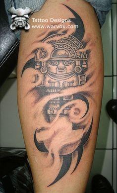 Tumi Tattoo Design » ₪ AZTEC TATTOOS ₪ Aztec Mayan Inca Tattoo Designs Instant Download
