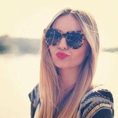 Ub-sessed with Karen Walker tortoise sunglasses