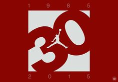 1985-2015 Jordan 30th anniversary