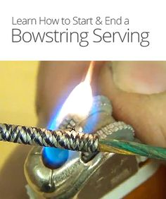 How to Start & End a Bowstring Serving