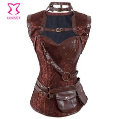 http://pt.aliexpress.com/item/Latex-Sexy-Steel-Boned-Brown-Vintage-Steampunk-Corset-Corselet-Top-Women-Gothic-Overbust-Bustiers-Corsets-For/1889832410.html