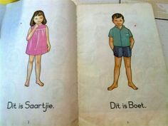 Every Afrikaans kid's first introduction to reading Those Were The Days, The Old Days, Small Words, My Land, Special Needs Kids, African History, African Beauty, Afrikaans, Best Memories
