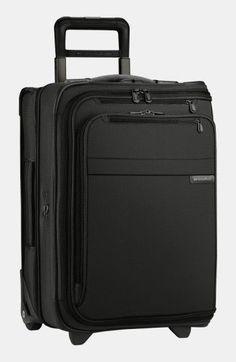 Briggs & Riley 'Baseline - Domestic' Rolling Carry-On Garment Bag - Black