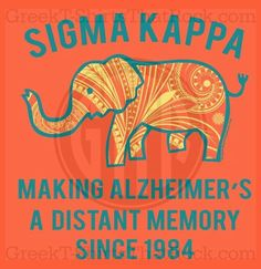 Sigma Kappa Philanthropy! Buy all your Fraternity and Sorority apparel with GREEKTSHIRTSTHATROCK today 800-644-3066 <3