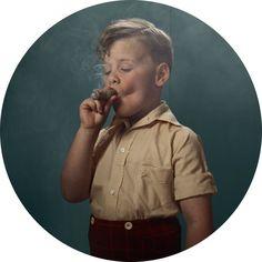 Smoking Kids by Frieke Janssens.
