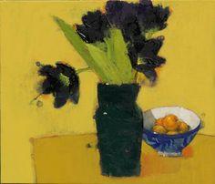 갤러리소헌 Painting Lessons, Painting & Drawing, Flower Oil, Painting Inspiration, Art Images, Still Life, Floral Arrangements, Colours, Drawings