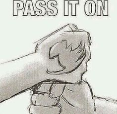 Pass it on see how many of you repin