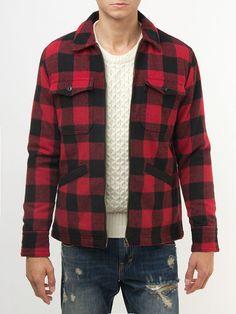 Lumberjack jacket 80% POLYESTER, 20% WOOL