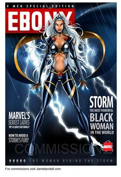 The first Lady of Marvel, Storm!