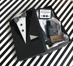 Groomsmen Gift Box, Groomsmen Proposal, Groomsman Gifts, Diy Gift Box, Diy Gifts, Gift Boxes, Birthday Gifts For Boyfriend Diy, Boyfriend Gifts, Gifts For Wedding Party