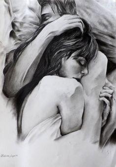 Pin di madison inman su goals love drawings, couple drawings e art drawings. Couple Sketch, Couple Drawings, Couple Art, Love Drawings, Art Drawings, Illustration Art Dessin, Love Illustration, Drawings Of People Kissing, Drawing People
