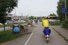 Cruzando por la Frontera de Suiza a Alemania.