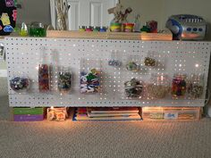 Reggio inspired playroom for 2 year old