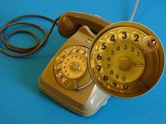 Telefono con rotella