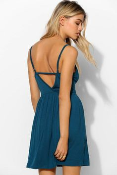 Pins And Needles Bustier-Top Knit Dress