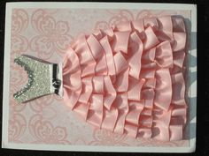 I love this card!  Another amazing one at convention!  What girl wouldn't want this!  www.barbstewart.stampinup.net  #stampinup