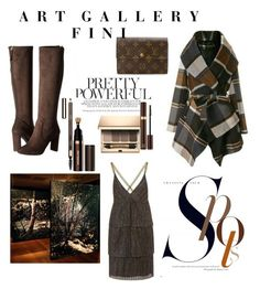"""""""Pretty Powerful"""" by fini-i ❤ liked on Polyvore featuring Nine West, Clarins, Louis Vuitton and Tom Ford"""